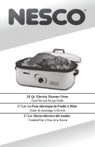18 Qt. Electric Roaster Oven