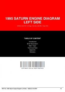 1995 saturn engine diagram left side dbid 32j4n