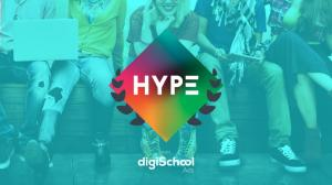 6 les digischool hype awards