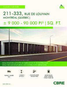 9 000 - 90 000 PI² | SQ. FT