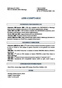 AIDE-COMPTABLE