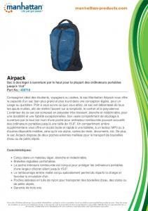 Airpack - Manhattan Products