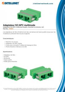 APC multimode - Intellinet Network Solutions