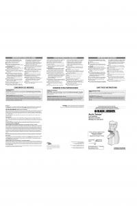 Arctic Twister - Applica Use and Care Manuals