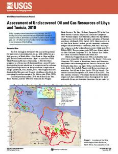 Assessment of Undiscovered Oil and Gas Resources of Libya and ...