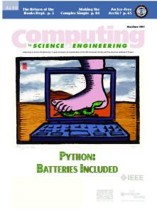 batteries included python - Complexity Sciences Center