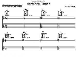 Blowing Away - Lesson 4