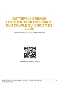 butterfly dreams lhistoire bouleversante dun couple ...  AWS