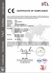 certificate of compliance - AWS