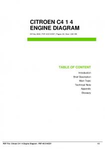 citroen c4 1 4 engine diagram dbid 37m