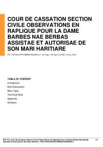 cour de cassation section civile observations en ...  AWS