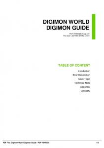 digimon world digimon guide dbid p4by