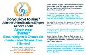 Do you love to sing? Aimez-vous chanter?