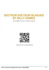 docteur docteur blagues by billy gomes -82pdf-ddbbbg  AWS