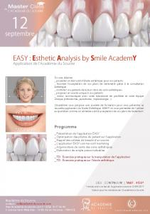 EASY : Esthetic Analysis by Smile AcademY - Académie du Sourire