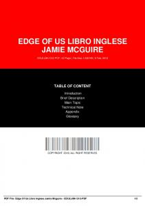 edge of us libro inglese jamie mcguire dbid 136oz