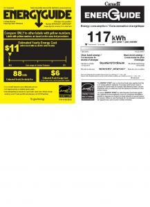 Energy Guide - Whirlpool Outlet