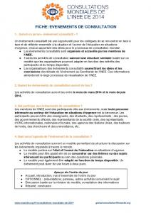 fiche: evenements de consultation