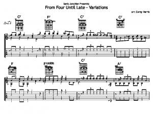 From Four Until Late - Variations