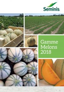 Gamme Melons 2018  AWS