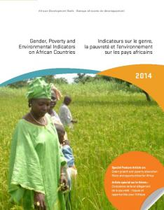 Gender, Poverty and Environmental Indicators on African Countries ...