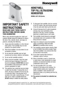 important safety instructions