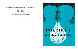 Infertility: Medical and Social Choices - Georgetown Library repository