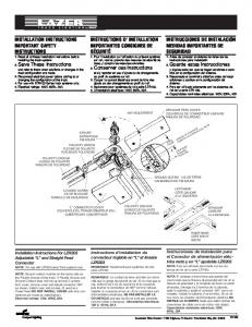 INSTALLATION INSTRUCTIONS IMPORTANT SAFETY ... - Home Depot