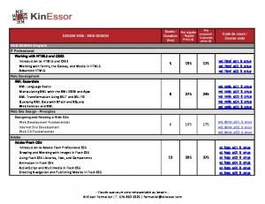 Introduction to HTML5 and CSS3 Working with Forms, the ... - Kinessor
