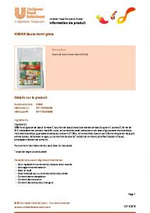 KNORR Sauce demi-glace