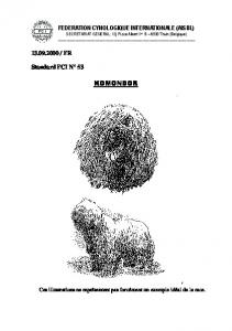 komondor - Fédération Cynologique Internationale