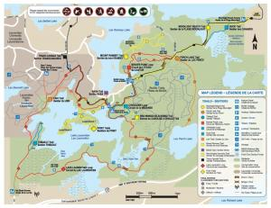 Lake Laurentian Conservation Area Trail Map