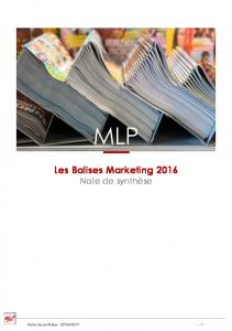 Les Balises Marketing 2016