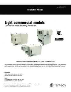 Light commercial models - SupplyHouse.com