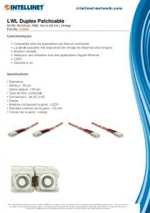 LWL Duplex Patchcable - UserManual.wiki