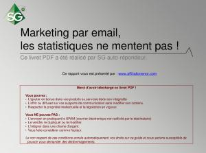 marketing email statistiques