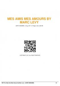 mes amis mes amours by marc levy -65pdf-mamabml  AWS