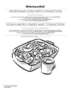 microwave oven with convection four à micro-ondes avec convection