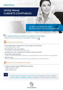 offre primo cabinets comptables