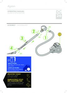 operating manual guide d'utilisation assembly ... - Dyson Canada