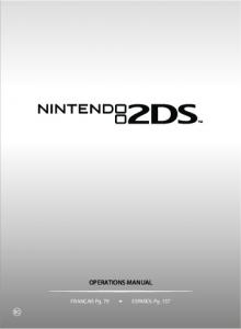 operations manual - Nintendo