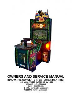OWNERS AND SERVICE MANUAL