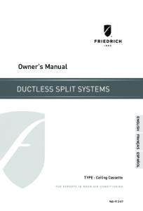 Owner's Manual - Plessers Appliances