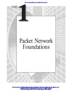 Packet Network Foundations