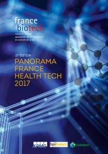 Panorama France Health Tech 2017 - France Biotech
