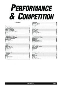 performance 3 competition