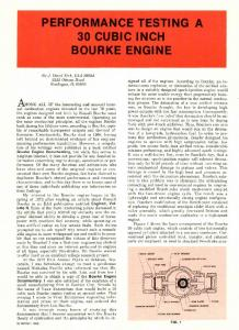Performance Testing A 30 Cubic Inch Bourke Engine - Size