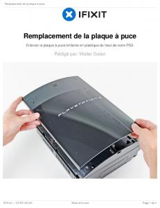 PlayStation 3 intelligente Plate Replacement