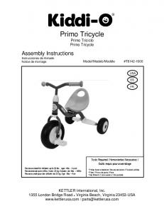 Primo Tricycle