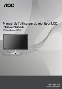 Product manual (French)